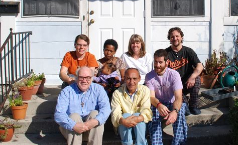 Jim Douglass with the GCW community