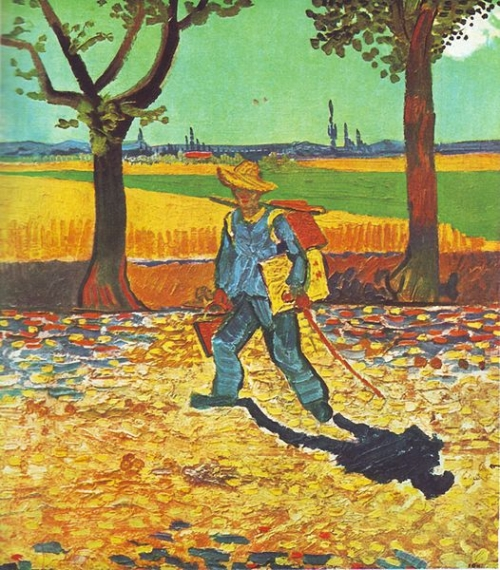 Van Gogh's Painter on the Road