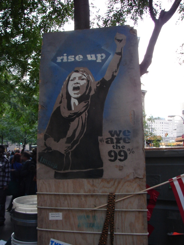 Occupy Wall Street - Rise Up